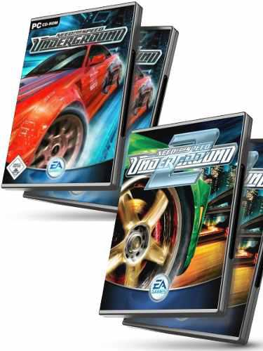 Need for speed underground 1 y 2 + nfs most wanted juegos pc