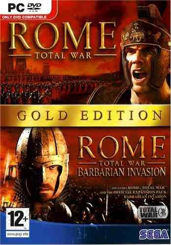 Rome total war gold juego para computadora 2 en 1 vv4