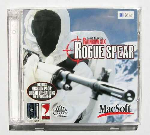 Rouge spear tom clancy's rainbow six videojuego para pc 1999