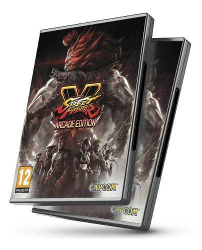Street fighter v arcade edition pc + 15 dlcs - juegos pc