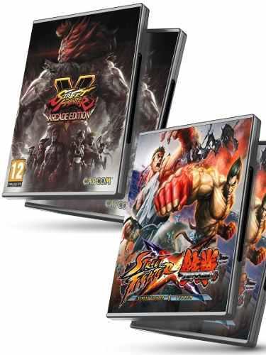 Street fighter v + street fighter x tekken - juegos pc
