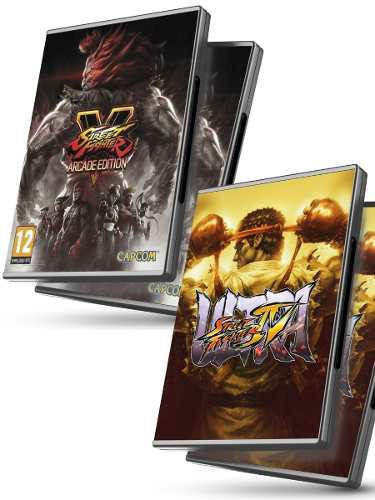 Street fighter v + ultra street fighter iv - juegos pc