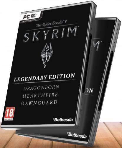 The elder scrolls skyrim edición legendaria + dlcs - juegos