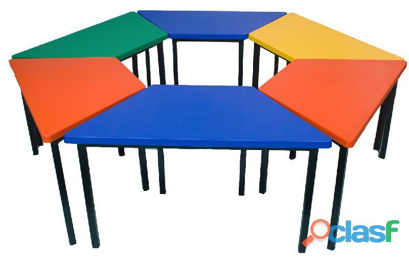 Mobiliario escolar, de oficina y pizarrones.