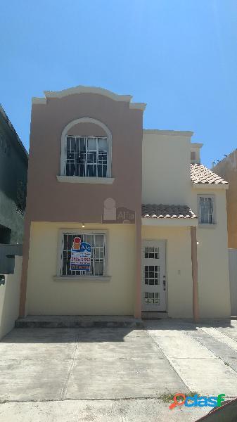 Casa en condominio en renta en puerta de anáhuac, general escobedo, nuevo león