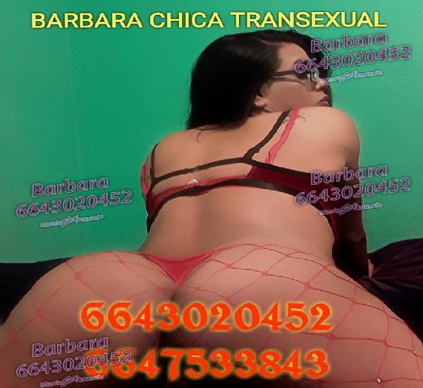 Atrévete a tener una nueva experiencia Bárbara chica tr