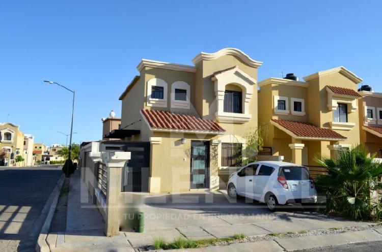 Casa en venta al norte de hermosillo en cerrada