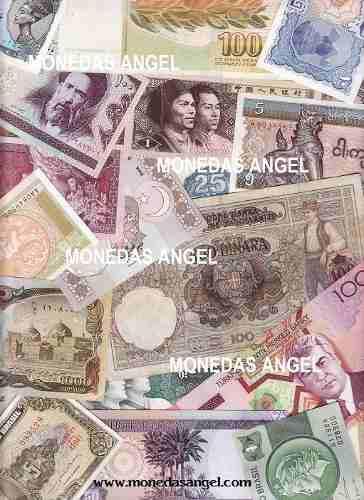Coleccion de 33 billetes del mundo aprovecha