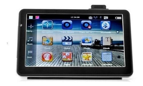 Gps navegador de 7 de pantalla tactil