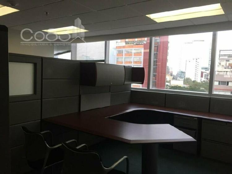 Renta - oficina amueblada - masaryk - 370 m - usd$11,840