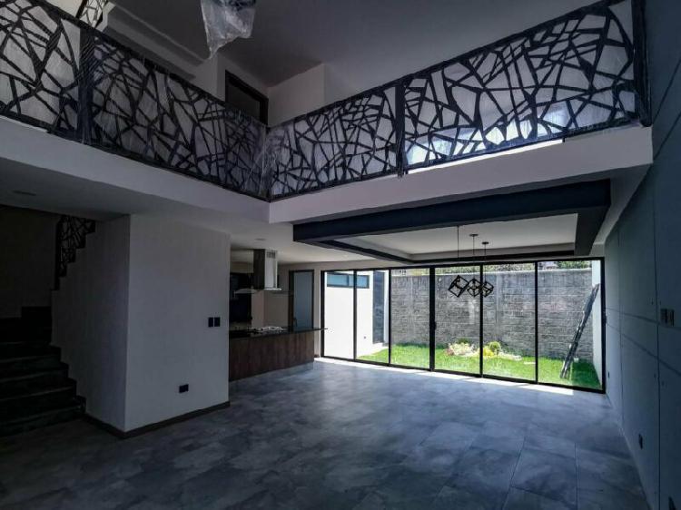 Casa en venta explanada puebla 268 m2 de construcción