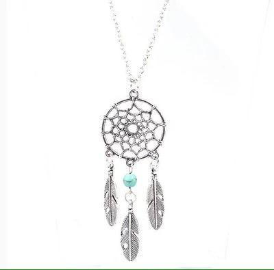 Colgante collar cadena atrapa sueños hippie energia envio g
