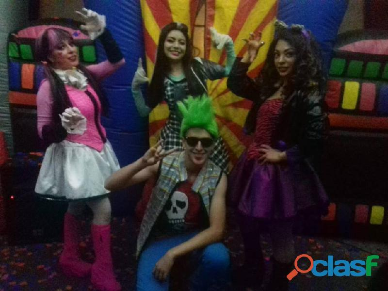 Show infantil de monster high en cdmx