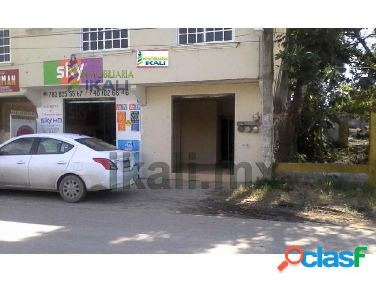 Renta local comercial av lópez mateos tuxpan veracruz 40 m², 17 de octubre