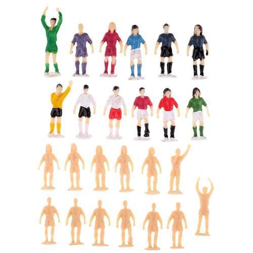 1/87 ho oo diseño fútbol jugador de fútbol figura de acc