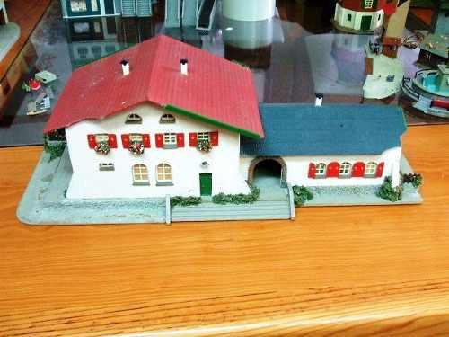 2 casas europeas de plastico escala ho escala 1/87 art03