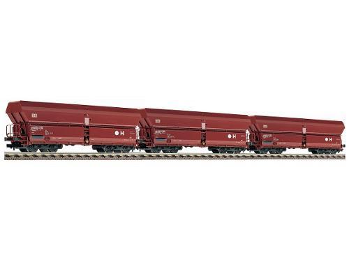 3 vagones de carga marca roco 66193 escala ho modelo fals183