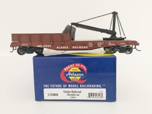 Escala ho athearn vagón de perforación alaska