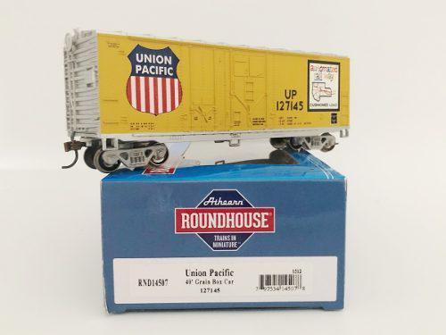 Escala ho roundhouse caja 40' union pacific