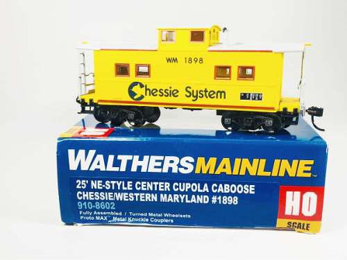 Escala ho walthers cabus 25´ chessie system
