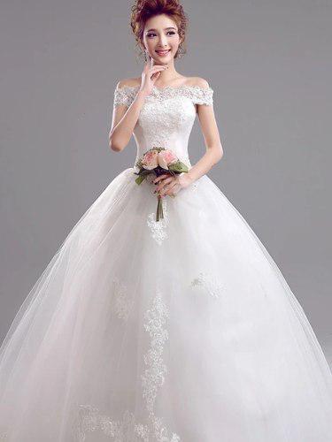 Hermoso Vestido Novia Ajustable Con Envio Gratis W 5956 En
