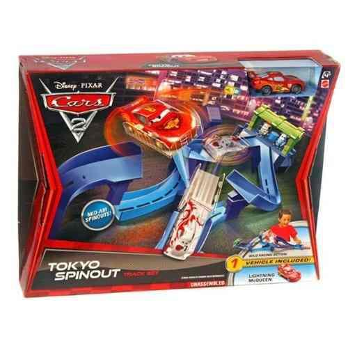 Juegos de vehículos,juguetes pistas cars azul