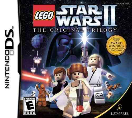 Lego star wars ii the original trilogy nintendo ds