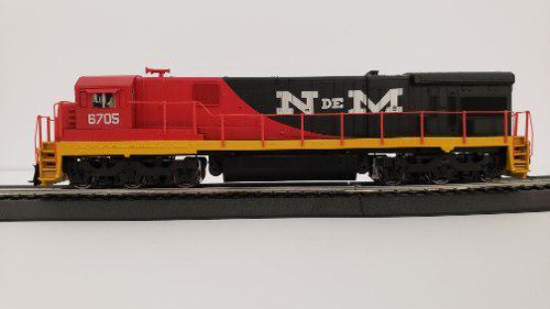 Locomotora ho ge c30-7 ndem #6705 paragon 2 sound/dc/dcc