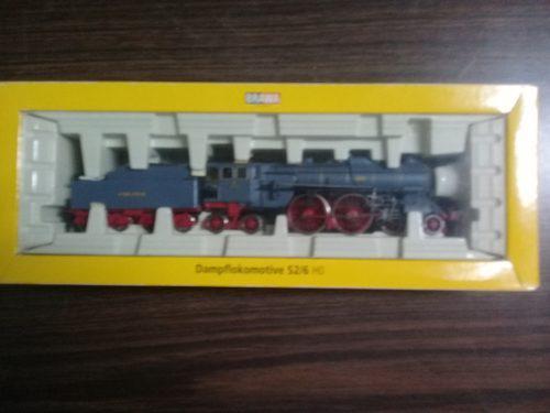 Locomotora vapor s2/6 ho brawa época i k. bayerische sts.