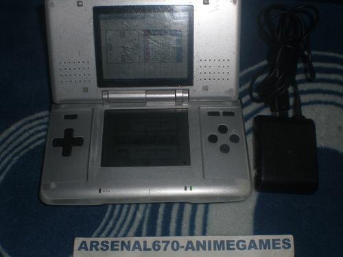 Nintendo ds fat consola plata mas 1 juego a escoger nds
