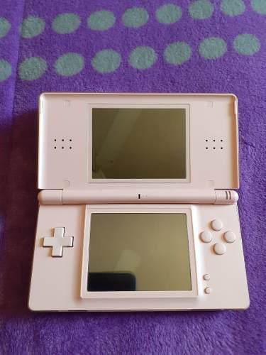 Nintendo ds lite rosa cargador stylus gba seminuevo original
