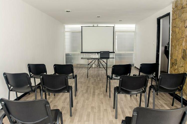 Sala en renta para talleres/ capacitaciones en puebla