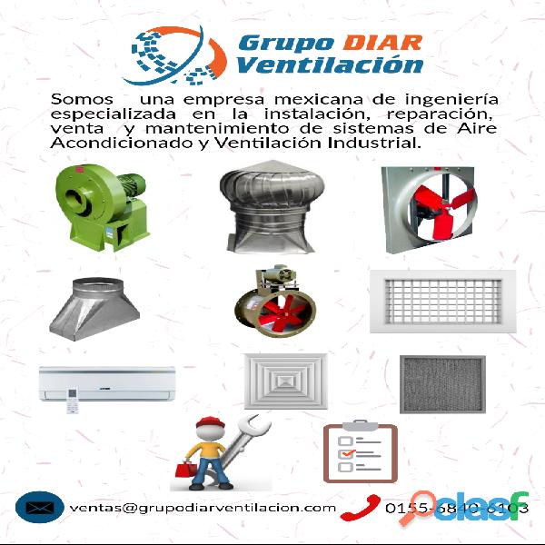 Aire acondicionado y ventilación industrial