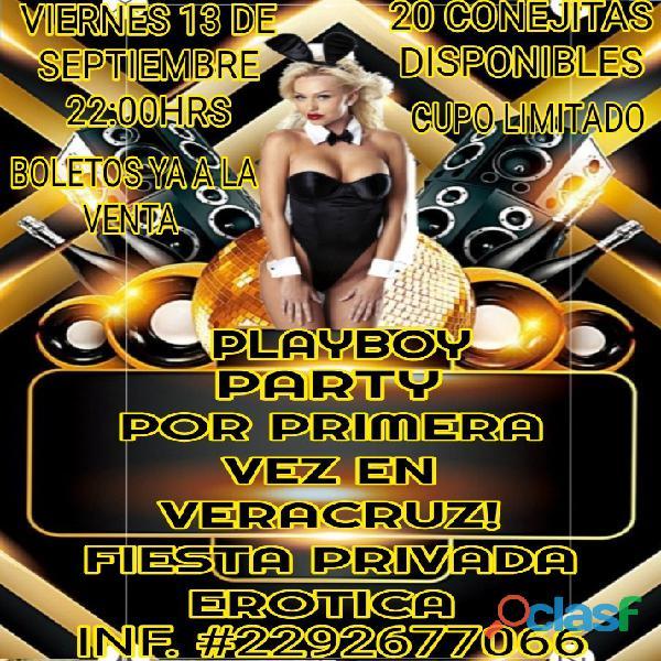 Fiesta playboy por primera vez en veracruz!! 20 conejitas sensuales estarán disponibles para ti...
