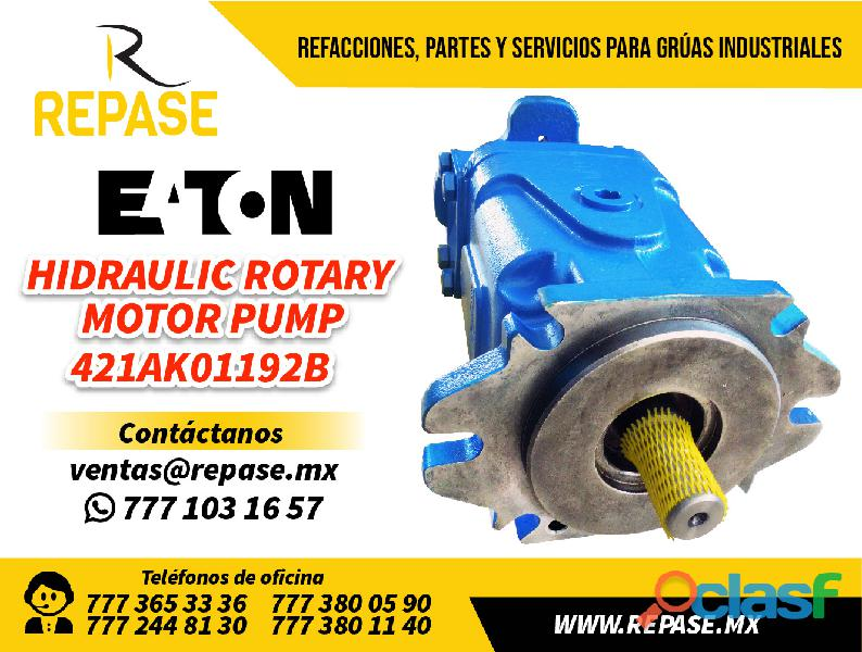 Hidraulic rotary motor pump