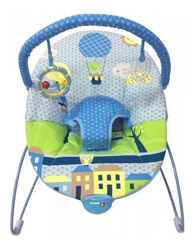 Bouncer silla mecedora azul para bebé prinsel nuevo