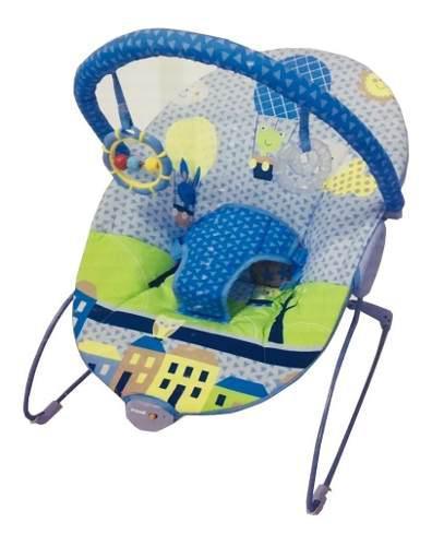 Bouncer silla mecedora para bebe prinsel azul msi