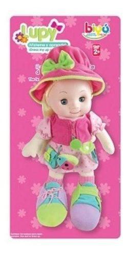 Bu-6253 lupy muñeca educativa para aprender a vestirse biyu