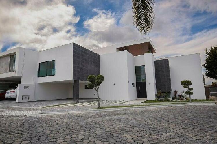 Hermosa casa nueva lomas de angelopolis i cluster 222-a