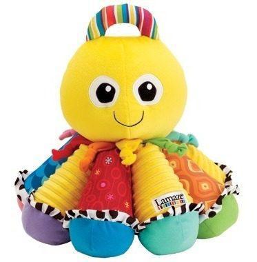 Juguete bebe estimulación pulpo musical (octotunes) lamaze