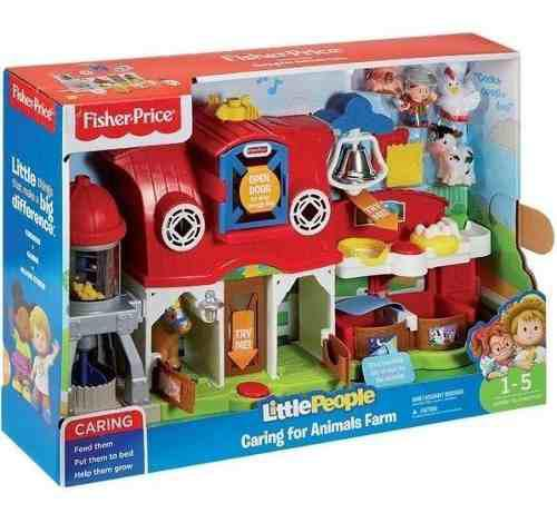 Nueva! Little People Granja De Animales Fisher Price