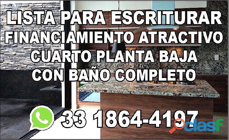 LOS ROBLES ZAPOPAN TERMINADA PARA ESCRITURAR CON 4 CUARTOS(UNO EN PLANTA BAJA)Y COCINA EQUIPADA