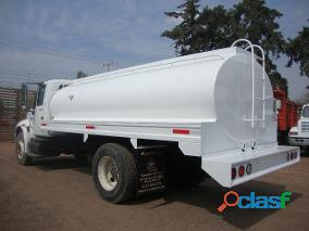 Pipa para agua de 10,000 lts sobre chasis cabina nueva 3