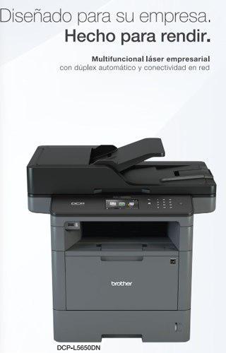 Brother dcp-l5650dn copiadora multifuncional láser