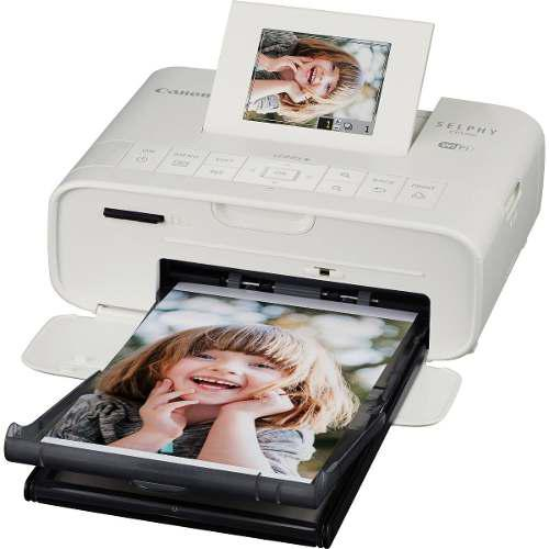Canon selphy cp1200 impresora inalambrica modelo blanco