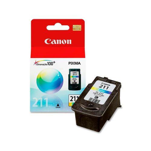 Cartucho canon color cl-211 ip2702 mp230 mx360 2976b017aa