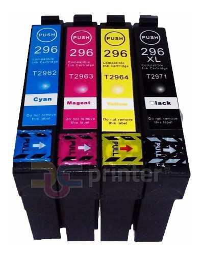 Cartucho de tinta compatible con epson 296 xp-231 xp-241 431