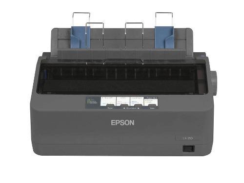 Epson lx-350 impresora matriz de puntos 9 agujas negro