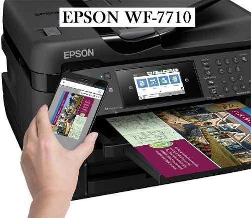 Epson wf-7710 tabloide nuevo original