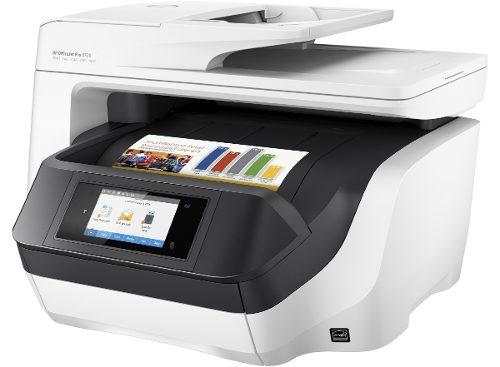 Hp officejet pro 8720 multifuncional cama scan tamaño